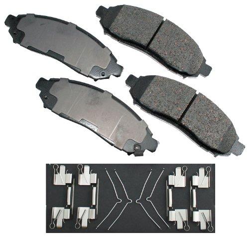 Akebono ACT1094 Proact Ultra Premium Ceramic Disc Brake Pad kit