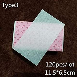 1 Pack 120pcs/lot Multicolor Reusable Make Curly Hair Special Paper Hair Blanching Thicken Paper