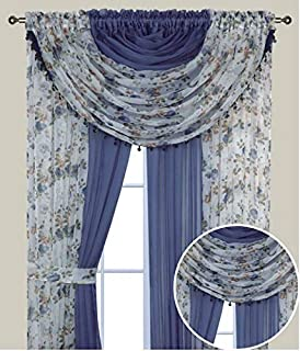 all in one curtain sets cheap