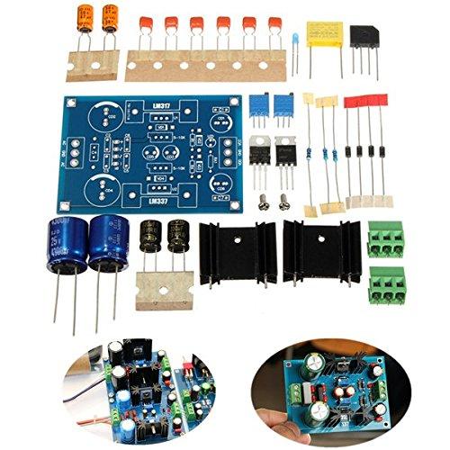 Bluelover Lm317 Ajustable Filtrado Fuente De Alimentación Lm337 Regulador De Voltaje Módulo Diy Kit