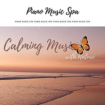 Calming Music with Nature - Rain, Piano
