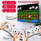 Best Kids Plug And Play Video Games - DigitCont Retro Game 2.4G Wireless Game Dongle Easy Review