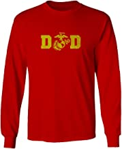 VICES AND VIRTUESS Father Day Marine Dad USMC Seal American America Gift Long Sleeve Men's