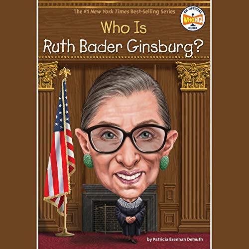 Who Was Ruth Bader Ginsburg? cover art