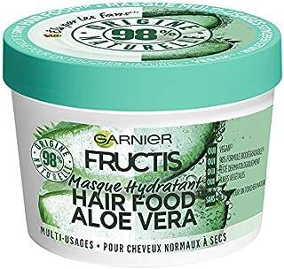 مغذي ومرطب الشعر الترا دو بخلاصة صبار الالوفيرا 3 في 1 من غارنييه للشعر العادي، 390 مل