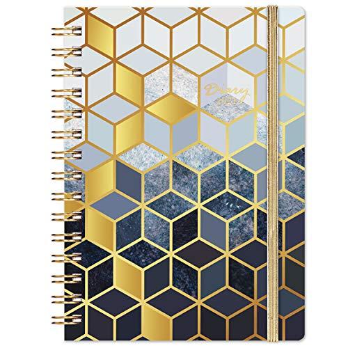 Terminkalender 2021, A5 Terminplaner von Januar bis Dezember, Hardcover mit Innentasche, Planer, 21,5 x 15,5 cm