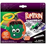 Crayola No Carve Pumpkin Decorating Kit with Paint Sticks, Less Mess Paint Set for Kids, Gift