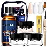 Best Acrylic Liquids - Acrylic Powder and Liquid Set Modelones Acrylic Nail Review
