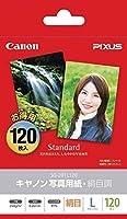 キヤノン 写真用紙 絹目調 L判 120枚 SG-201L120 【まとめ買い3冊セット】