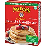 Annie's Organic Pancake and Waffle Mix Box, 26 oz (Pack of 8)