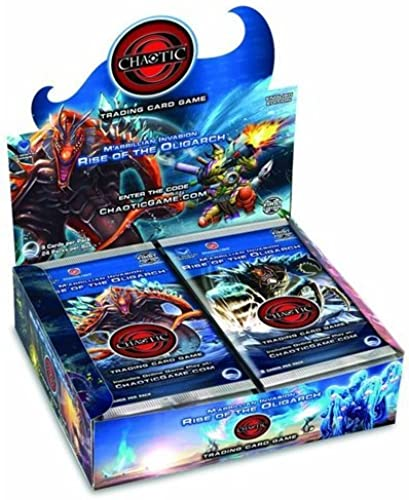 Chaotic Card Game M'arrillian Invasion  Rise of the Oligarch Booster Box (24 Packs) by Pok   on