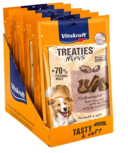Vitakraft Treaties Minis Leberwurst 8x 48g