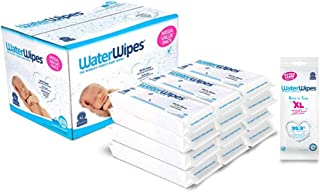 Sponsored Ad - WaterWipes Unscented Baby Wipes, Sensitive and Newborn Skin, 12 Packs (720 Wipes) and Waterwipes Unscented ...
