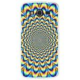 Ooh.Color 025616_ mab024Magia con patrón Suave Silicona TPU Bumper–Funda para Samsung Galaxy Grand Prime, Transparente