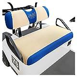 10L0L Golf Cart Seat Covers for Club Car DS, EZGO TXT RXV, Breathable Air Mesh Cloth Washa...