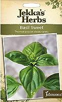 【輸入種子】 Johnsons Seeds Jekka's Herbs Basil Sweet ジェッカズ・ハーブス バジル スウィート ジョンソンズシード
