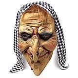 Orrore degli orrori - Che maschera! Se se alla ricerca di quel perfetto accessorio di Halloween per spaventare i tuoi ospiti, questa maschera ti permetterà di farlo con stile. L'effetto di terrore è garantito. Attendi e goditi le reazioni! Qualità su...