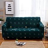AYWJ Fundas de Sofá Elasticas de 1 2 3 4 Plazas Universal Funda Cubre Sofas Ajustables, Antideslizante Protector Cubierta de Muebles (Color : Color 21, Size : AA 190-230+BB 190-230cm)