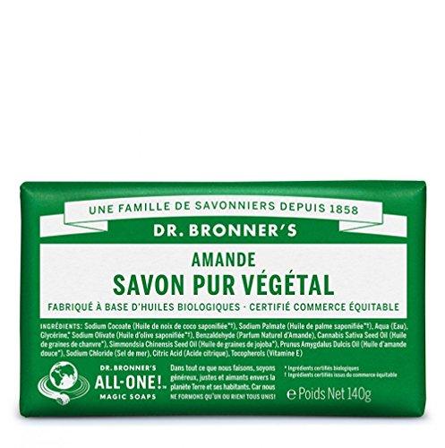 DR. BRONNER'S Savon Solide Amande - 140g