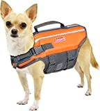 Coleman Pet Flotation Vest for Pool Boat Beach Lake X-Small (4.25'' x 9.5 x 3.25 in)