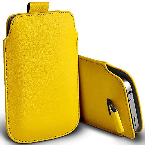 i-Tronixs (Gelb) Cubot CheetahPhone Hülle Fall Tasche case Premium stilvolle Kunstleder Pull Tab-Beutel-Haut-Kasten-Abdeckung Auswahl