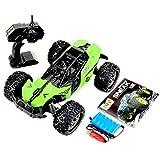 QSYY 1:12 Ferngesteuertes Geländefahrzeug, 2WD 2,4Ghz 55+Km/H Hochgeschwindigkeits-LKW-Spielzeug, Mit Autobatterie, Geschenke Für Kinder, Jungen Und Mädchen,Grün