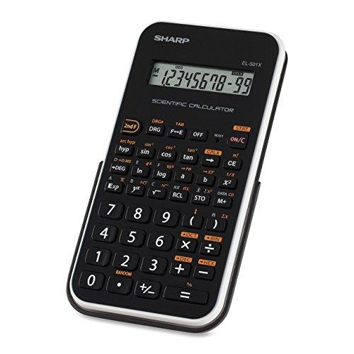 Sharp EL501XBWH Engineering/Scientific Calculator (Renewed)