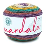 Lion Brand Yarn 525-215 Mandala Yarn, Warlock, 1-Pack