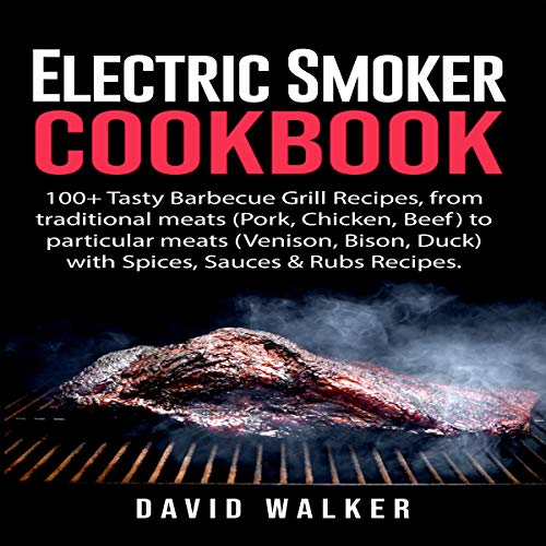 Electric Smoker Cookbook audiobook cover art