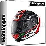 X-Lite by Nolan - Casco de moto integral X-903 Ultra Carbon CavalCADE 010, talla L