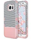 ULAK Coque Galaxy S7 Edge, Housse Étui de Protection Antichoc Hybride en Silicone Souple et PC Protection Coque pour Samsung...
