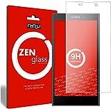ZenGlass Flexible Glas-Folie kompatibel mit Sony Xperia L2 Panzerfolie I Bildschirm-Schutzfolie 9H