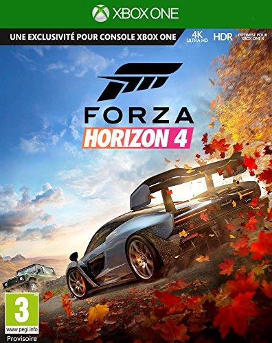 avis jeux xbox one x professionnel Forza Horizon 4