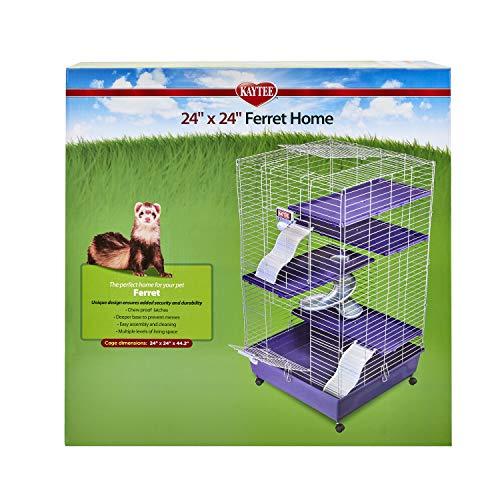 Kaytee Ferret Deluxe 24' X 24' x 44' Multi-Level...