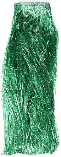 Verbetena - Falda Hawaiana rafia larga, color verde con velcro ...