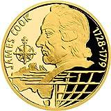 James Cook On The Waves Moneda Oro 10$ Niue 2020