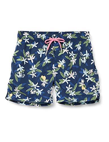 GANT Herren Lemon Flowers Swim CF Shorts, Blau (Insignia Blue 461), Large (Herstellergröße: L)
