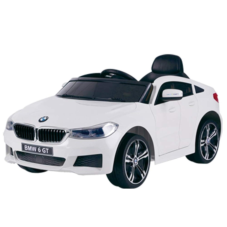 電動乗用カー BMW 6 GT グランツーリスモ プロポ付き ホワイト JJ2164-WH