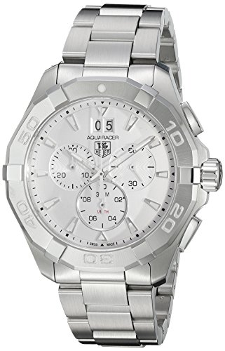 TAG Heuer Men's 'Aquaracer' Swiss Quartz Stainless Steel Dress Watch