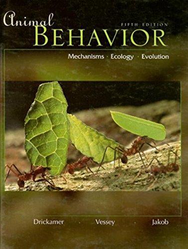 Animal Behavior: Mechanisms, Ecology, Evolution