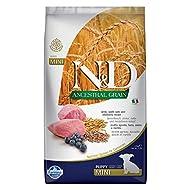 Farmina Natural & Delicious Lamb & Blueberry Low-Grain Mini Breed Puppy Food 5.5 Pounds