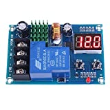 Icstation DC 6V-60V Programmable Digital Battery Charge Controller Protection Switch for for Lead Acid Lithium Solar Panel Battery