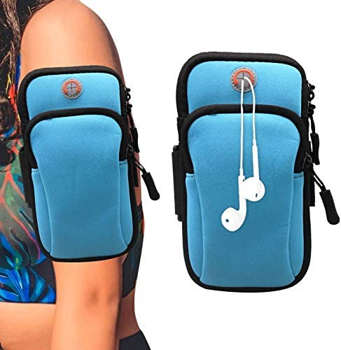 7 7 Inch Universal Running Arm Bag Sports Armband for Samsung Galaxy Note20 Ultra 5G A51 A71 product image