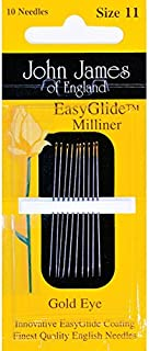 Colonial Needle - Gold'n Glide Milliners Needles - Size 11 10/Pkg