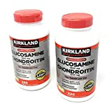 Kirkland Signature Extra Strength Glucosamine 1500mg/Chondroitin 1200mg, 220 Count (2 Pack)