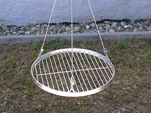 37 cm Grillrost Edelstahl Stababstand 14/15 mm V2A 1.4301 f. Grill Schwenkgrill Feuerschale Dreibein Feuerstelle rund