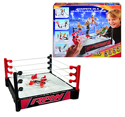 WWE - Super Ring, Lanza Luchadores (Mattel CDJ81)