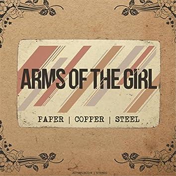 Paper, Copper, Steel