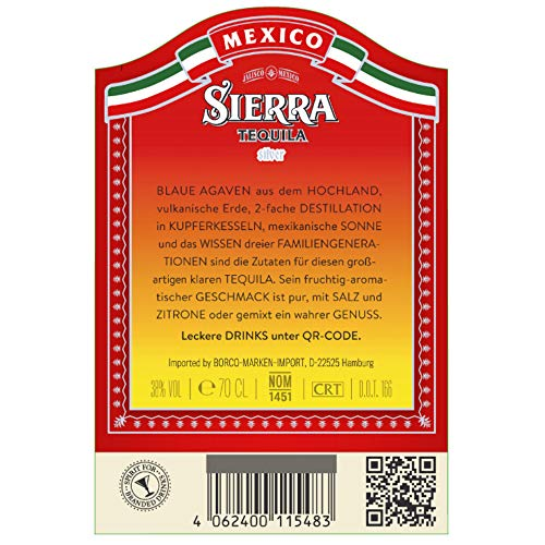 Sierra Silver Tequila - 3