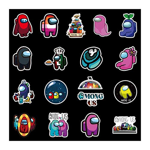 Fgolphd 100 Graffiti Juego No Se Repite Entre Nosotros Pegatinas Pegatinas Pegatinas De Coche Coche De Dibujos Animados Maleta Impermeable Pegatinas (Color : Multi-Colored)